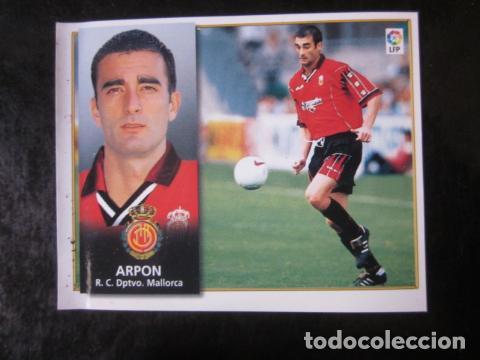 ARPON COLOCA MALLORCA EDICIONES ESTE 98 99 1998 1999 CROMO RECUPERADO VENTANILLA (Coleccionismo Deportivo - Álbumes y Cromos de Deportes - Cromos de Fútbol)