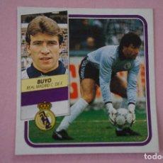Cromos de Fútbol: CROMO DE FÚTBOL BUYO DEL REAL MADRID C.F. DESPEGADO LIGA ESTE 1989-1990/89-90. Lote 148246046