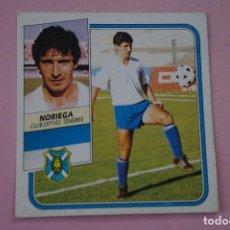 Cromos de Fútbol: CROMO DE FÚTBOL NORIEGA DEL C.D.TENERIFE BAJA DESPEGADO LIGA ESTE 1989-1990/89-90. Lote 243946560