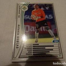Cromos de Fútbol: CROMO CARD WCCF LIGA 2005-06 PANINI DE JAPÓN REAL BETIS DOBLAS (TENGO MAS MIRA MIS LOTES). Lote 118273155