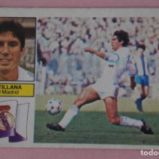 Cromos de Fútbol: CROMO DE FÚTBOL SANTILLANA DEL REAL MADRID C.F. DESPEGADO LIGA ESTE 1982-1983/82-83. Lote 148246129