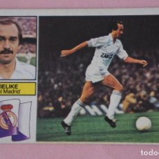 Cromos de Fútbol: CROMO DE FÚTBOL STIELIKE DEL REAL MADRID C.F. DESPEGADO LIGA ESTE 1982-1983/82-83. Lote 148246166