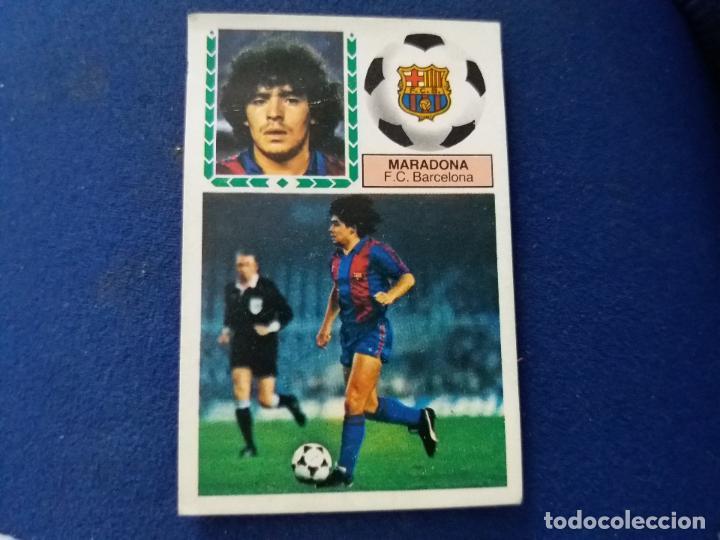 83/84 ESTE. BARCELONA MARADONA (Coleccionismo Deportivo - Álbumes y Cromos de Deportes - Cromos de Fútbol)