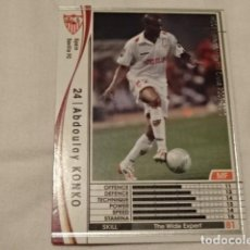 Cromos de Fútbol: CROMO CARD WCCF LIGA 2009-10 PANINI DE JAPÓN SEVILLA KONKO (TENGO MAS MIRA MIS LOTES). Lote 118457175
