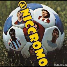 Cromos de Fútbol: LAMINA ORIGINAL COMPLETA SIN CORTAR POSTER CENTRAL DEL ALBUM FHER 1977 1978 DISGRA TODAS LAS LETRAS. Lote 118474783