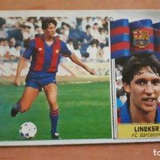 Cromos de Fútbol: CROMO LINEKER 86-87. Lote 118497351