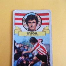 Cromos de Fútbol: NORIEGA BILBAO CROMO FUTBOL LIGA 85/86 EDICIONES ESTE. Lote 118504971