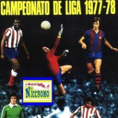Cromos de Fútbol: 100 CROMOS DIFERENTES DE EDITORIAL FHER DISGRA 1977 1978, TAMBIEN SE VENDEN SUELTOS LEER INTERIOR.. Lote 118543631
