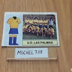 Cromos de Fútbol: ESTE LIGA 82/83..ALINEACIÓN LAS PALMAS ...RECUPERADO.... Lote 118641930