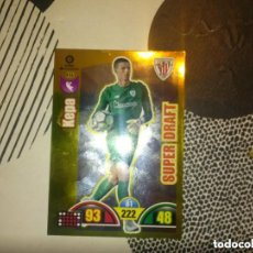 Cromos de Fútbol: 406 KEPA SUPER DRAFT ADRENALYN 17/18. Lote 118641979