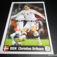 Cromos de Fútbol: F CHRISTIAN ERIKSEN DINAMARCA ED. HOLANDESA EURO2012 EURO 2012 POLONIA UKRANIA POLAND UKRAINE . Lote 118956551