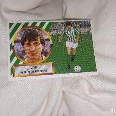 Cromos de Fútbol: CROMO JOB 88-89. Lote 118857007