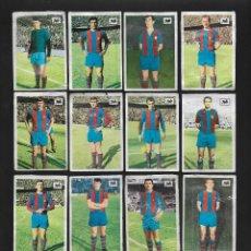 Cromos de Fútbol: LOTE 13 CROMOS FUTBOL BARCELONA, ALBUM CHOCOLATES LA CIBELES LIGA 1969 1970. DESPEGADOS DE ALBUM. Lote 118956547