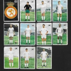 Cromos de Fútbol: LOTE 11 CROMOS FUTBOL C.D LEONESA , ALBUM CHOCOLATES LA CIBELES LIGA 1969 1970. DESPEGADOS DE ALBUM. Lote 118956803