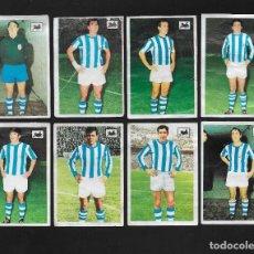 Cromos de Fútbol: LOTE 8 CROMOS FUTBOL REAL SOCIEDAD , ALBUM CHOCOLATES LA CIBELES LIGA 1969 1970. DESPEGADOS DE ALBUM. Lote 118956867