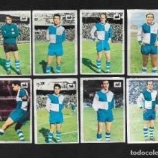 Cromos de Fútbol: LOTE 8 CROMOS FUTBOL C.D SABADELL , ALBUM CHOCOLATES LA CIBELES LIGA 1969 1970. DESPEGADOS DE ALBUM. Lote 118956871