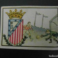 Cromos de Fútbol: CROMO 2º ALBUM GALLINA BLANCA ESCUDO DEL ATLETICO DE MADRID. SERIE 105. FUTBOL. Lote 119043579