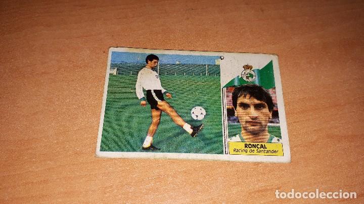CROMO RONCAL 86-87 (Coleccionismo Deportivo - Álbumes y Cromos de Deportes - Cromos de Fútbol)