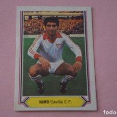 Cromos de Fútbol: CROMO DE FÚTBOL NIMO DEL SEVILLA F.C. SIN PEGAR LIGA ESTE 1980-1981/80-81. Lote 195266943