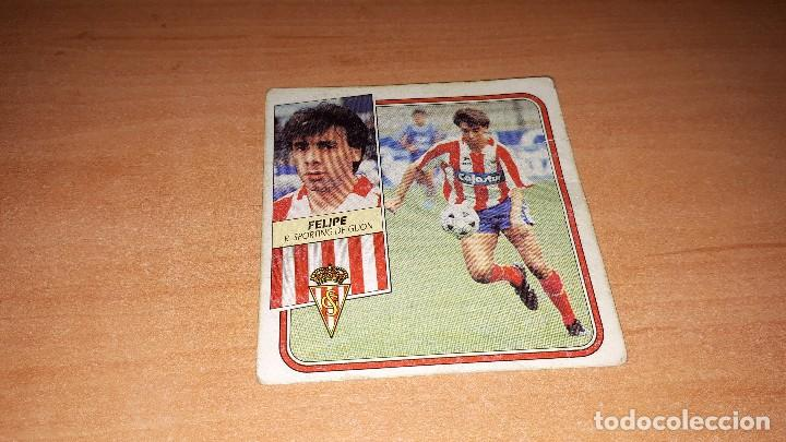 CROMO FELIPE 89-90 (Coleccionismo Deportivo - Álbumes y Cromos de Deportes - Cromos de Fútbol)
