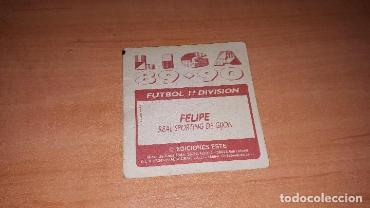Cromos de Fútbol: Cromo Felipe 89-90 - Foto 2 - 119243811