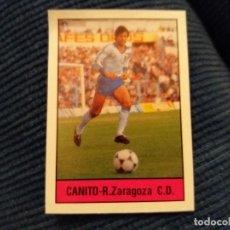 Cromos de Fútbol: FÚTBOL 85/86 LISEL. REAL ZARAGOZA CANITO. Lote 119307671