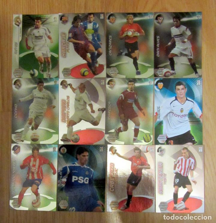MGK MEGACRACKS PANINI LIGA 2006-07 MEGA MAESTROS REVELACIONES ESTRELLAS (Coleccionismo Deportivo - Álbumes y Cromos de Deportes - Cromos de Fútbol)
