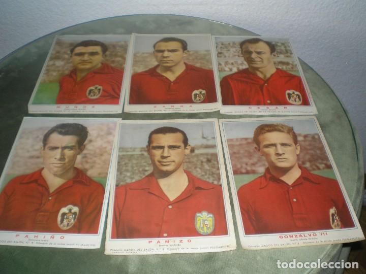 CROMOS POSTER DE LA SELECCION ESPAÑOLA MAS 5 EJEMPLARES MAS (Coleccionismo Deportivo - Álbumes y Cromos de Deportes - Cromos de Fútbol)
