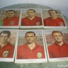 Cromos de Fútbol: CROMOS POSTER DE LA SELECCION ESPAÑOLA MAS 5 EJEMPLARES MAS. Lote 119501199