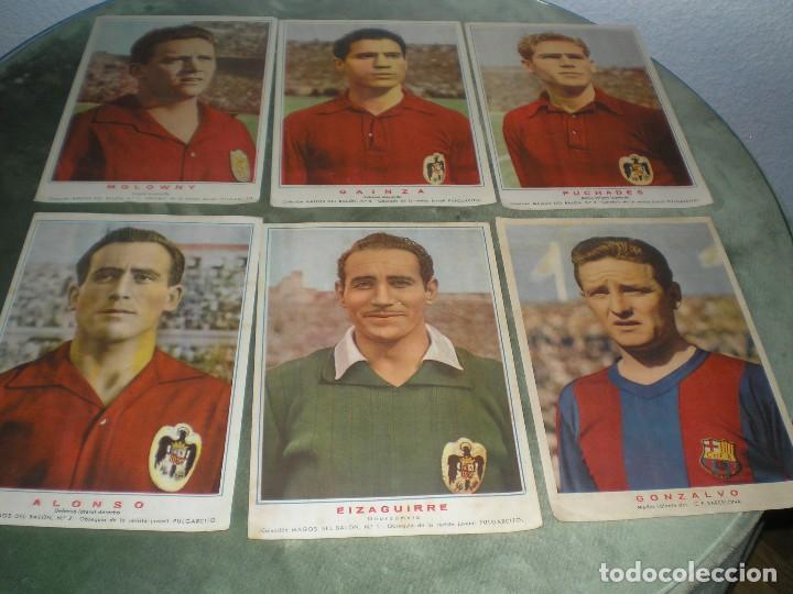 Cromos de Fútbol: CROMOS POSTER DE LA SELECCION ESPAÑOLA MAS 5 EJEMPLARES MAS - Foto 2 - 119501199