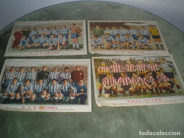 Cromos de Fútbol: CROMOS POSTER DE LA SELECCION ESPAÑOLA MAS 5 EJEMPLARES MAS - Foto 3 - 119501199