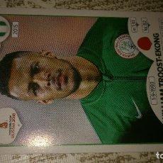 Cromos de Fútbol: MUNDIAL DE RUSIA WORLD 2018 18 PANINI Nº337 337 WILLIAM TROOST-EKONG NIGERIA NUEVO. Lote 125961518