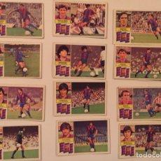 Cromos de Fútbol: LOTE 38 CROMOS EDICIONES ESTE LIGA 82 83 SIN PEGAR, MARADONA ETC. Lote 119553082