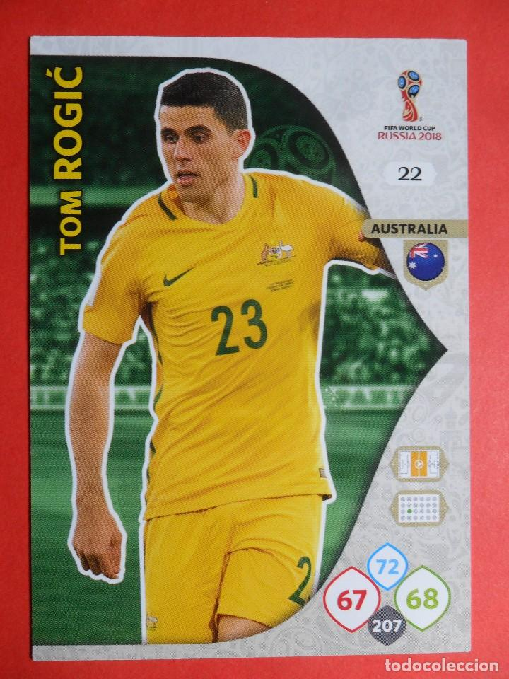 fbd2fd3d0153d ADRENALYN XL FIFA WORLD CUP RUSSIA RUSIA 2018 - 22 - TOM ROGIC - AUSTRALIA -