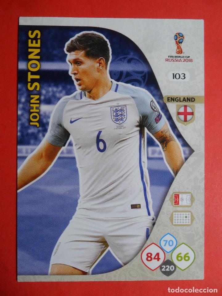 65355f15ed6b4 ADRENALYN XL FIFA WORLD CUP RUSSIA RUSIA 2018 - 103 - JOHN STONES -  INGLATERRA -