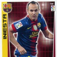 Cromos de Fútbol: ADRENALYN 2012-13 Nº 48 INIESTA - F. C. BARCELONA. Lote 119840635