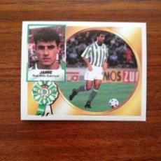 Cromos de Fútbol: JAIME ( REAL BETIS BALOMPIE ) - ESTE 94/95 1994/95 FICHAJE 7 BIS - SIN PEGAR IMPECABLE NUEVO SOBRE . Lote 120285383