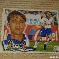 Cromos de Fútbol: CROMO JUANELE, REAL ZARAGOZA LIGA 00-01 (2000 2001) ÁLBUM ESTE. Lote 120393299