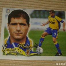 Cromos de Fútbol: CROMO QUIQUE MEDINA VILLARREAL C.F. LIGA 00-01 (2000 2001) ÁLBUM ESTE. Lote 120408147