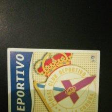 Cromos de Fútbol: ESTE 2006-2007- ESCUDO RC DEPORTIVO. Lote 120494395