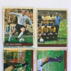 Cromos de Fútbol: LOTE 4 CROMOS FRANCE 98 DS STICKER COLLECTIONS. Lote 120665467