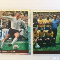 Cromos de Fútbol: LOTE 2 CROMOS FRANCE 98 DS STICKER COLLECTIONS . Lote 120667023
