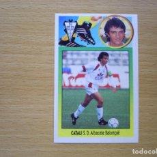 Cromos de Fútbol: BAJA CATALI SD ALBACETE ESTE 1993 1994 93 94 CROMO FUTBOL NUEVO SIN PEGAR NUNCA PEGADO ADHESIVO. Lote 120826151