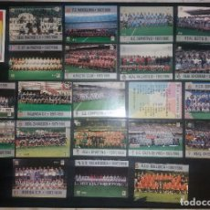 Cromos de Fútbol: LOTE MUNDICROMO MC LIGA 1997 1998 97 98, PLANTILLAS 1ª DIVISIÓN, COMPLETA, DOBLE VERSIÓN E ÍNDICE. Lote 120862427