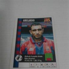 Cromos de Fútbol: SUPERGOL MARCA 95 ABELARDO (F.C. BARCELONA).. Lote 120891887