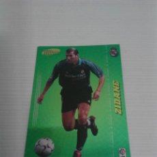 Cromos de Fútbol: MEGACRACKS 2004-05 NÚM. 384 ZIDANE (REAL MADRID) MEGA ESTRELLAS.. Lote 120896339