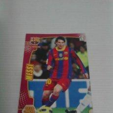 Cromos de Fútbol: MEGACRACKS 2011/12 NÚM. 53 MESSI (F.C. BARCELONA).. Lote 120897631