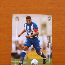 Cromos de Fútbol: DEPORTIVO LA CORUÑA - Nº 118, MAURO SILVA - MEGAFICHAS LIGA 2003-2004, 03-04 - EDITORIAL PANINI. Lote 120923971