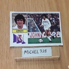 Cromos de Fútbol: ESTE LIGA 82/83...CAMACHO...REAL MADRID...RECUPERADO.... Lote 121004311
