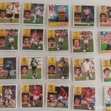 Cromos de Fútbol: LOTE 43 CROMOS LIGA ESTE 92 93 NUNCA PEGADOS.. Lote 121030863